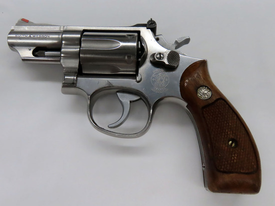 "Smith & Wesson Model 66-2 Double Action Revolver, SN #DH8731, .357 Magnum, 2 1/2"" Stainless Steel Ba"