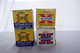 (4) Boxes of Winchester Super X .38 Gauge Shotgun Shells, (2) Boxes are Partial.