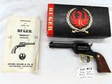 Ruger Super Bearcat Revolver, SN #91-30723, .22 Long Rifle Caliber, 4