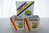(3) Boxes of Federal 12 Gauge Shotgun Shells (75 Rounds).