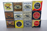 (12) Boxes of Peters 12 Gauge Shotgun Shells (Approx. 275 Rounds), (1) Empty Box.