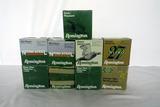 (9) Boxes of Remington 12 Gauge Shotgun Shells (Approx. 225 Rounds), (2) Partial Boxes.