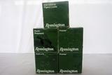 (5) Boxes of Remington 12 Gauge Shotgun Shells (125 Rounds).