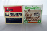 (2) Boxes of Remington 12 Gauge Shotgun Shells (50 Rounds.
