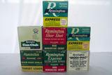 (7) Boxes of Remington Express, etc. 12 Gauge Shotgun Shells (Approx. 175 Rounds), (1) Partial Box.