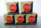 (5) Boxes of Peters-Victor 20 Gauge Shotgun Shells (125 Rounds).