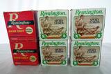 (6) Boxes of Remington 20 Gauge Shotgun Shells (Approx. 150 Rounds), (2) Partial Boxes.