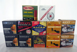 (12) Boxes of Herters, Kent, etc. 20 Gauge Shotgun Shells (Approx. 300 Rounds), (2) Partial Boxes.