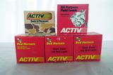 (5) Boxes of Activ 20 Gauge Shotgun Shells (125 Rounds).