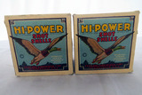 (2) Boxes of Federal HI-Powered 20 Gauge Shotgun Shells (50) Rounds.