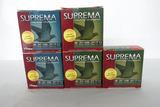 (5) Boxes of Suprema 20 Gauge Shotgun Shells, 125 Game & Target Load Shells.