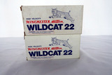 (2) Boxes of Winchester Western .22 Rounds, 1000 High Velocity Wildcat .22 LR Rounds.