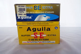 (2) Boxes of Aguila .22 Rounds, 1000 Super Extra High Velocity .22 LR Rounds.