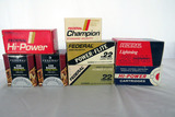 (8) Boxes of Federal .22 LR & Short Rounds, 1 Partial Box, Approximately 4000 Rounds.
