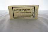 (1) Box of Clayco Sports LTD .22 LR Rounds, 500 Rounds.