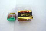 (1) Box of Fiocchi & (1) Box of Lellier & Bellot 9mm Handgun Ammo.