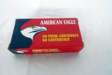 (1) Box of American Eagle .40 Smith & Wesson Handgun Ammo.