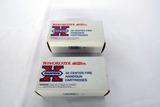 (2) Boxes of Winchester .41 Remington Mag Handgun Ammo (1 Partial Box).
