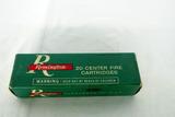 (1) Box of Remington .44 Remington Magnum Handgun Ammo.