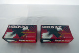 (2) Boxes of American Eagle .327 Federal Mag Handgun Ammo (100 Rounds).