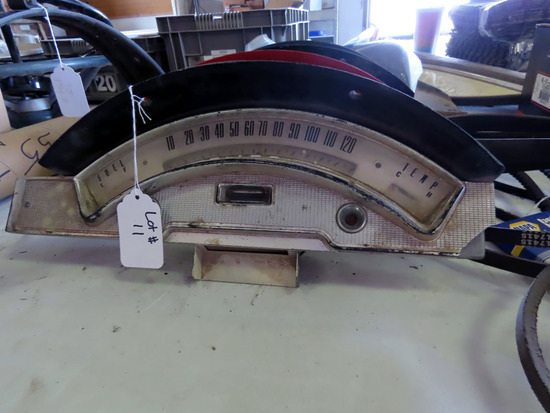 Speedometer for 1957 Ford Skyliner (18,936  Miles Showing).