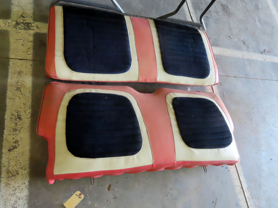 Complete Front Bench Seat for a 1957 Ford Skyliner.