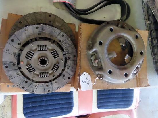 Clutch Parts for 1957 Ford Skyliner.