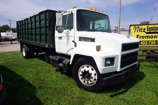 1997 Mack Model M-2060 Single Axle Conventional Dump Truck, VIN# VG6BA07A3VB501959, Mack 6-Cylinder