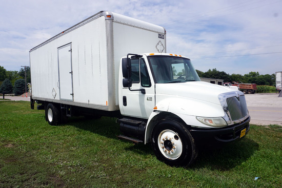 2008 International Model 4300SBA 4x2 Conventional Single Axle Van Truck, VIN# 1HTMMAAL78H564538, DT4