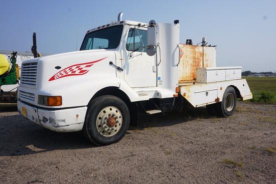 1988 IHC Model 8300 6x4 Single Axle Fuel & Lube Truck, VIN# 1HSJYGGR6JH536634, Cummins L-10 Turbo Di