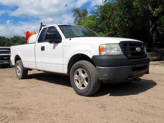 2007 Ford Model F-150 Extra Cab Pickup, VIN# 1FTRF14W47NA53016, 151,028 Miles, 4.6L V-8 Gas Engine,