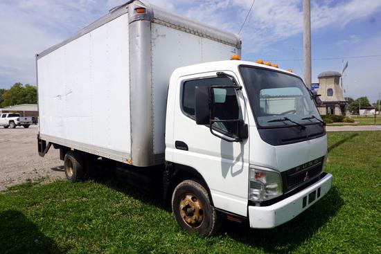 2005 Mitsubishi Model FE84D Single Axle Van Truck, 14,5000lb. GVW, Mitsubishi Diesel Engine, Automat