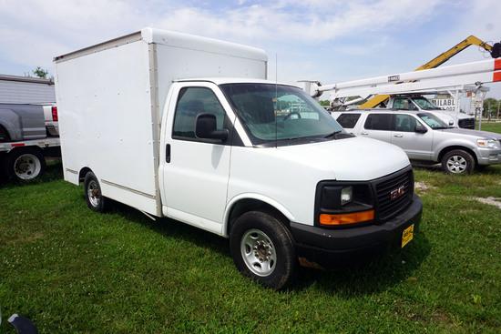 2004 GMC Model G-3500 Cutaway Van, VIN# 1GDGC31VX41907971, 4.8 Liter V-8 Gas Engine, Automatic Trans