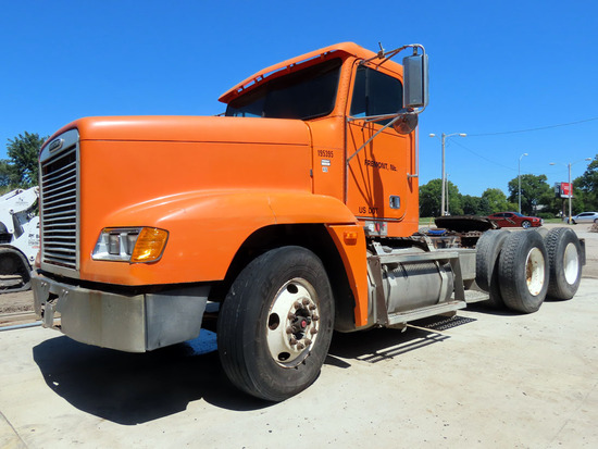 1997 Freightliner Model FLD120 Conventional Day Cab Truck Tractor, VIN# 1FUYDZYB4VH858395, Detroit S