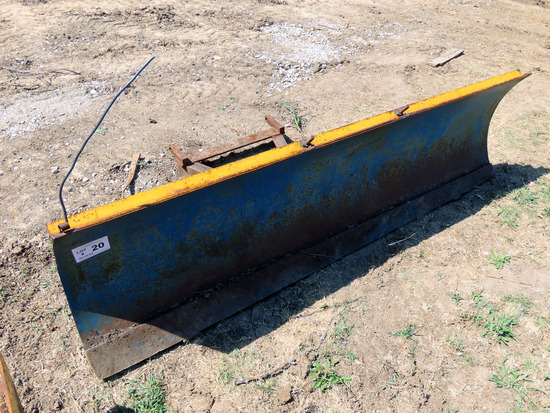 7' Front-Mount Pickup Snow Blade.