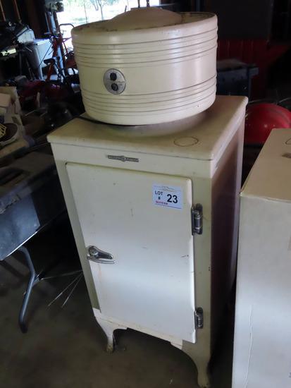 Antique GE Refrigerator.