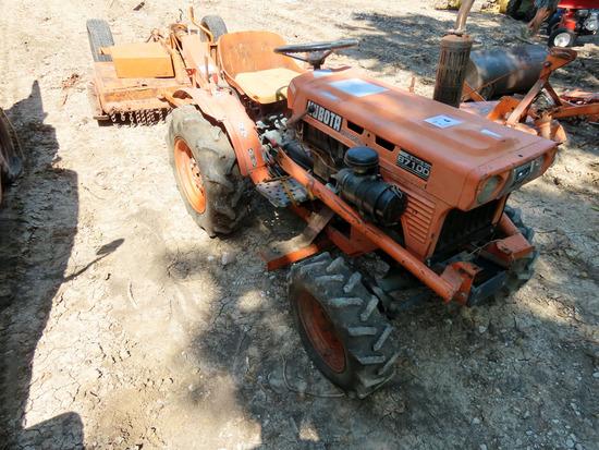 Kubota Model B7100 MFWD Diesel Utility Tractor, SN #, Kubota Diesel Engine,