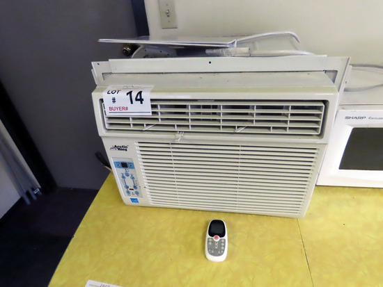 Artic King Window Air Conditioner with Remote.
