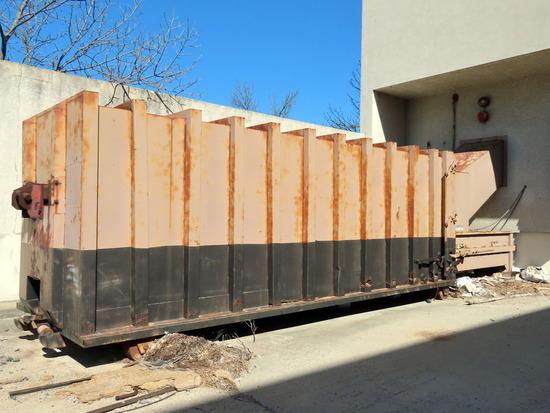 Industrial Disposal Supply Model SP250HD Hydraulic Trash Compactor Unit, SN