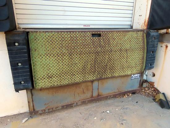 (3) Kelley Kwik-Plate Steel Hydraulic Lift 6' Dock Plates.