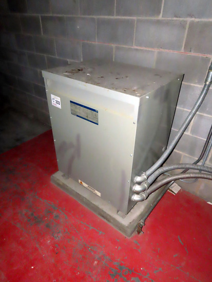 General Electric Model 9T2303574 Specialty Dry Type Transformer, Class AA,