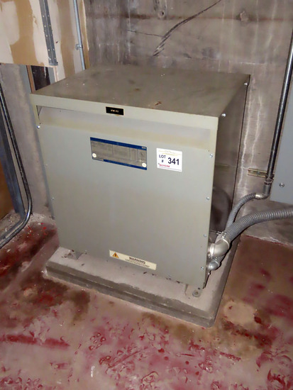 GE Class Double A Dry Type Transformer, 45KVA, Model 9T23Q3573, SN# NP475A5