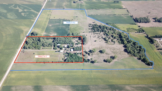 Tract #2 - This property features nearly 64 acres of Pasture, Trees and approximately 35 acres of ti