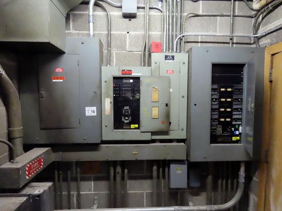(2) 277/480V Electrical Panels, (2) 120/208V Panels, (2) Main Power Switche
