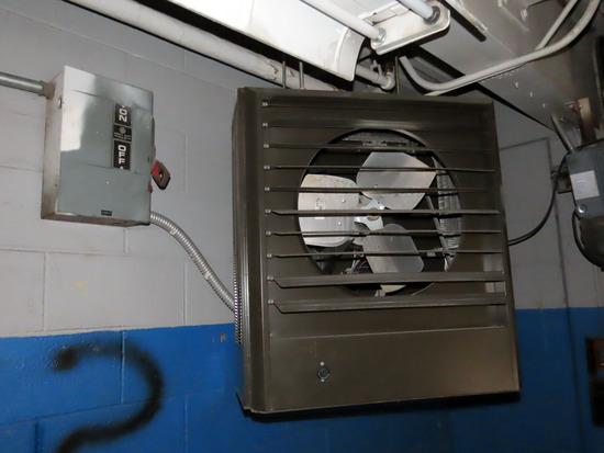(2) Berko Model HUHAA3048AOverhead Electric Heaters with Power Switch, 30KW
