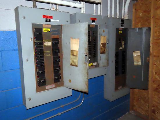 (3) Heavy Duty Electrical Breaker Panels - (2) 277/480Volt, (1) 120/208Volt