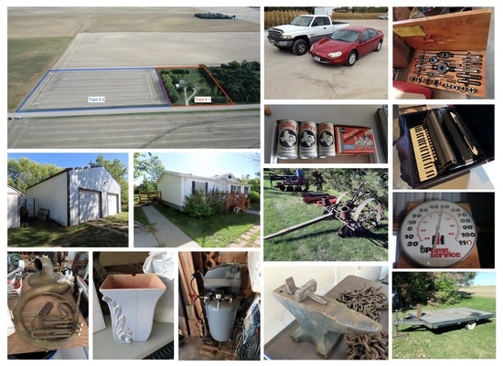 Acreage & Building Site & Estate Auction