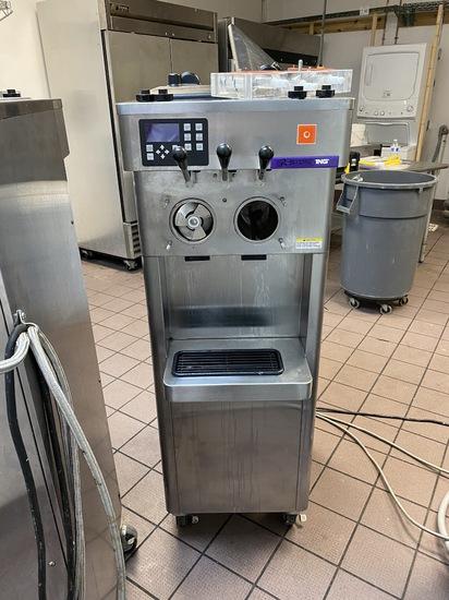 Stoelting Model F231-1812-0T2 Refrigerated Commercial Stainless Steel Frozen Yogurt Dispenser