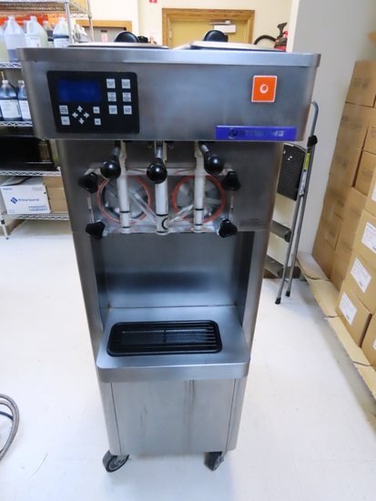 Stoelting Model F231-1812-0L2 Refrigerated Commercial Stainless Steel Frozen Yogurt Dispenser