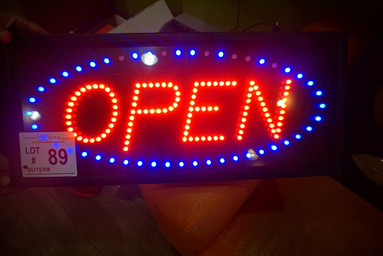 LED Open Sign.